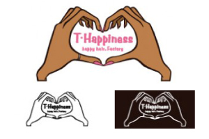 T-Happiness ロゴ