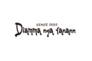 Diamma nga fanann ロゴ・住所入りハンコ